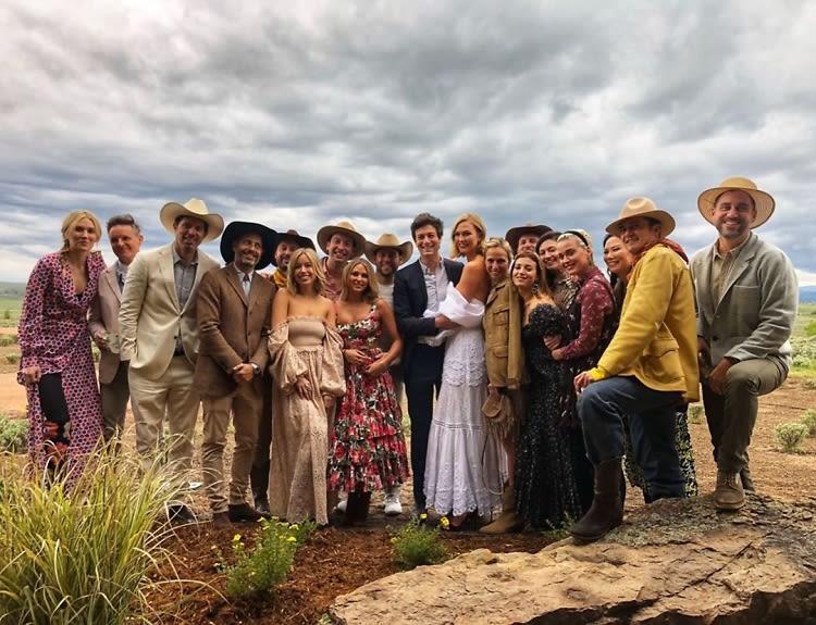 Inside Karlie Kloss & Joshua Kushner's SECOND (Wild West-Themed) Wedding Bash