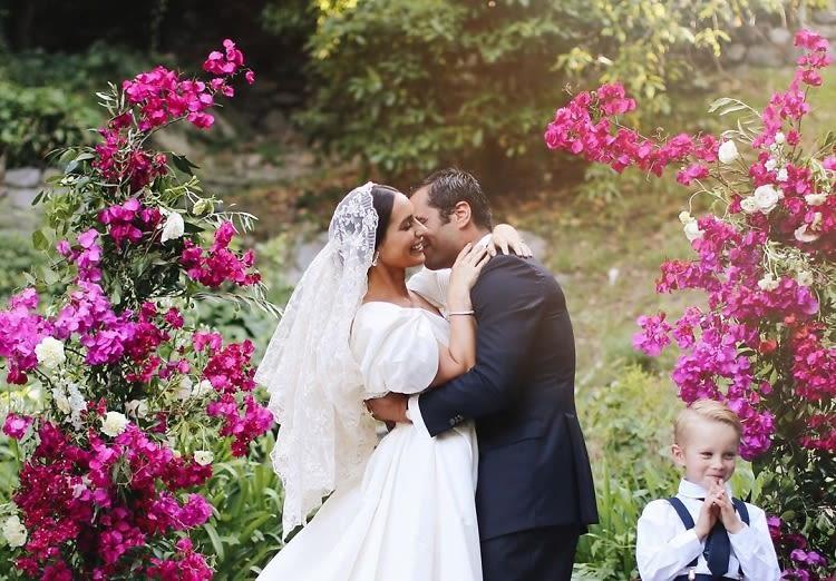 Controversial LPA Designer Pia Arrobio Baroncini's Italian-Meets-Californian Wedding