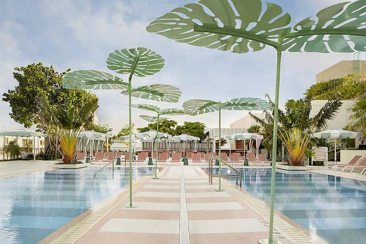 Inside The Goodtime Hotel, Miami's Latest It Destination From David Grutman & Pharrell Williams