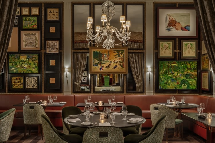 Inside Dowling's At The Carlyle, The Newest, Chicest Spot To Dine Uptown