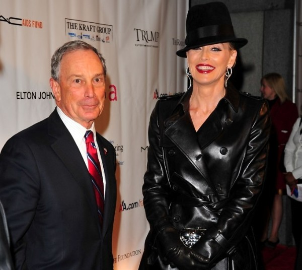 Michael Bloomberg Sharon Stone
