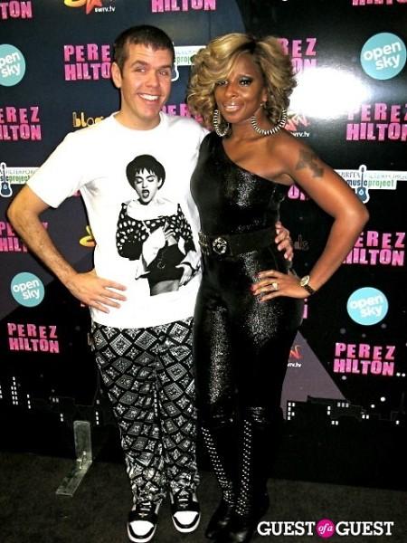 Perez Hilton Mary J. Blige