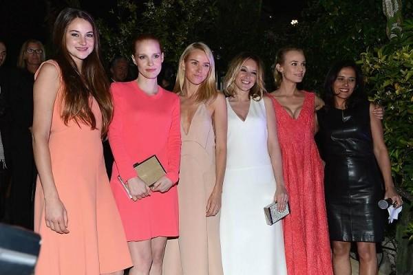 Naomi Watts Jessica Chastain Ludivine Sagnier Shailene Woodley Joana Vicente Gillian Fuller Elizabeth Denton