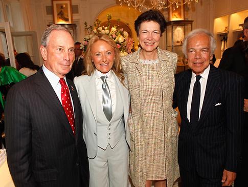 Diana Taylor Mayor Michael Bloomberg Ralph Lauren Ricky Lauren