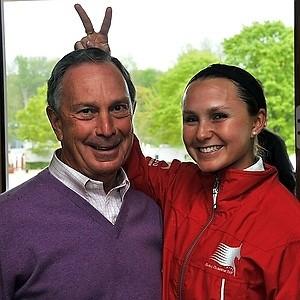 Michael Bloomberg Georgina Bloomberg