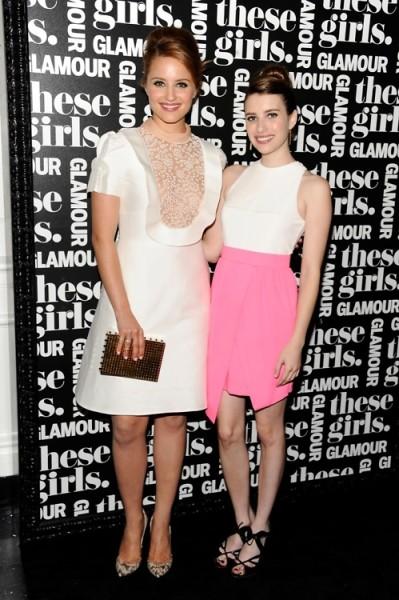 Emma Roberts Dianna Agron