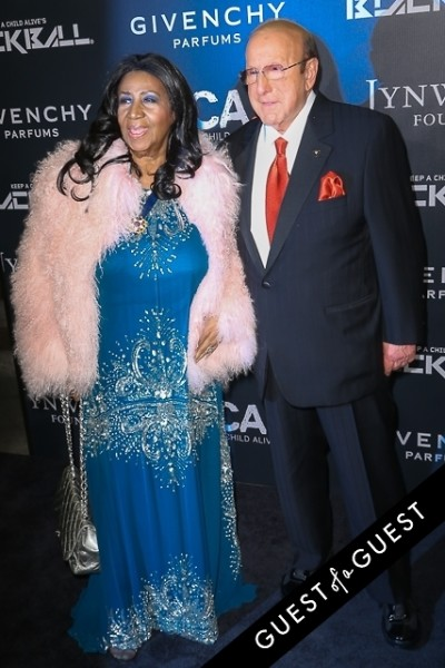 Clive Davis Aretha Franklin