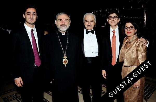 Diana Mkhitarian Sevag Mkhitarian Charles Mkhitarian Armen Mkhitarian Bishop Anoushavan Tanielian