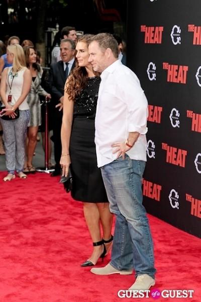 Brooke Shields Chris Henchy