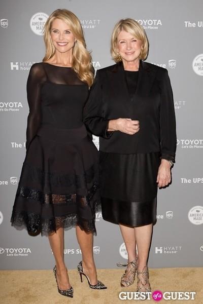 Martha Stewart Christie Brinkley