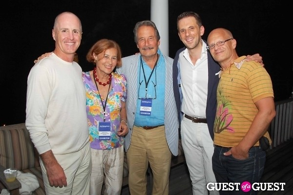 Gregoire Vogelsang Jhon Mc Govern Katharina Rich Perlow and her husband Artist Mark Perry