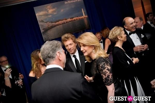 Jon Bon Jovi Arianna Huffington