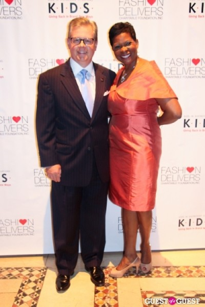 Nancy Silberkleit K.I.D.S. Chairman Kevin Burke with K.I.D.S. President