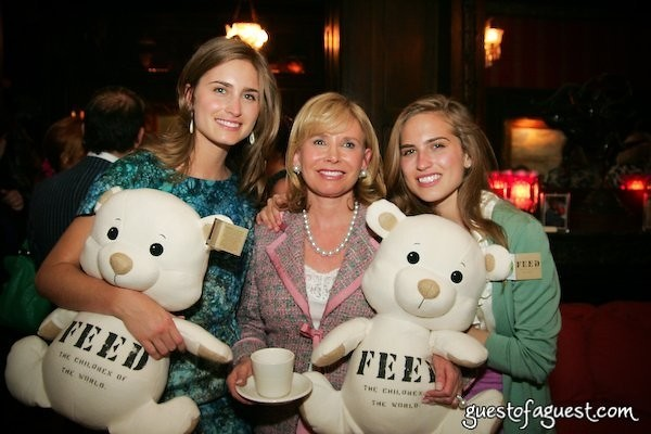 Lauren Bush Sharon Bush Ashley Bush
