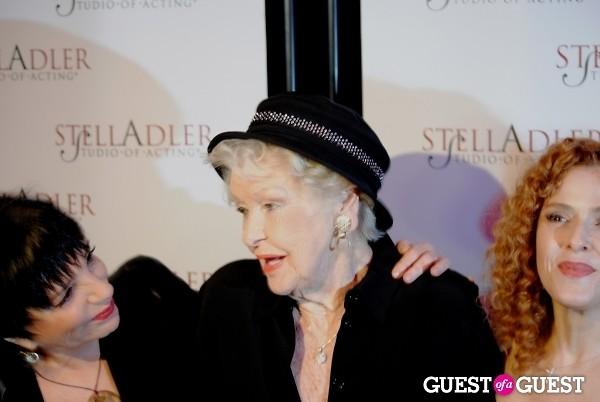 Bernadette Peters Elaine Stritch Liza Minnelli