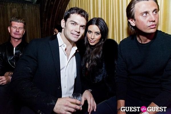 Kim Kardashian Jonathan Cheban Louis Levy