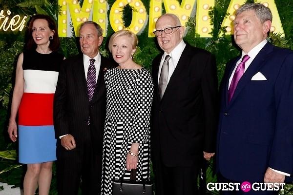 Mayor Michael Bloomberg Marie-Josée Kravis Cindy Sherman Ellsworth Kelly Jerry Speyer