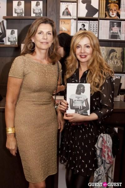 Martine Assouline founder of ASSOULINE and Evie Evangelou founder of Fashion 4 Development