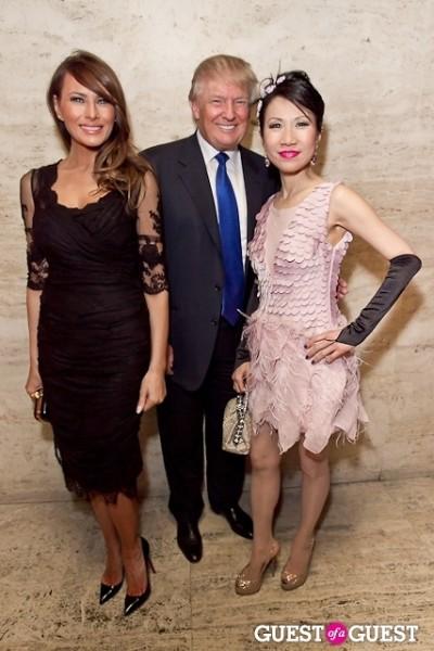 Donald Trump Melania Trump Chiu-Ti Jansen