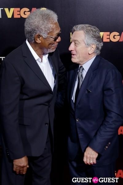 Robert DeNiro Morgan Freeman