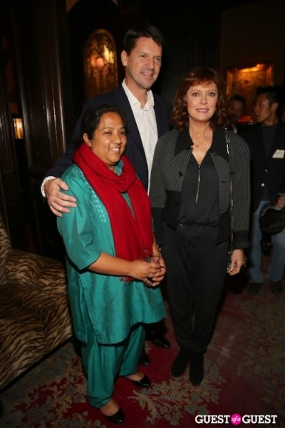 Susan Sarandon Pushpa Basnet Thomas Morgan