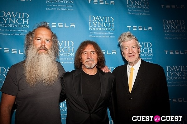 David Lynch Geezer Butler Rick Rubin