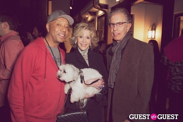 Russell Simmons Jane Fonda Richard Perry
