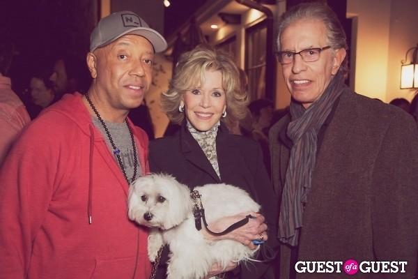 Russell Simmons Jane Fonda Richard Perry