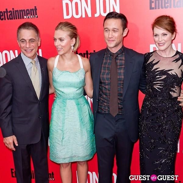 Scarlett Johansson Julianne Moore Joseph Gordon-Levitt Tony Danza