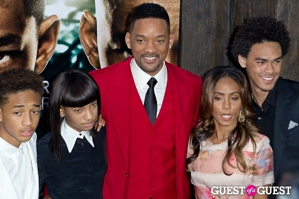 Jada Pinkett Smith Will Smith Jaden Smith Willow Smith
