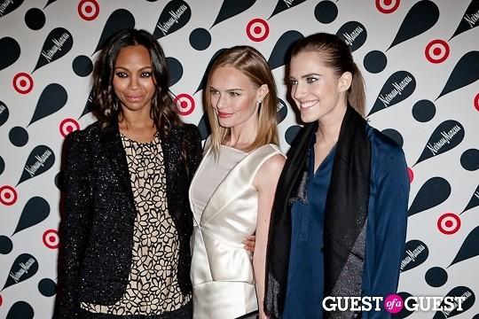 Allison Williams Zoe Saldana Kate Bosworth