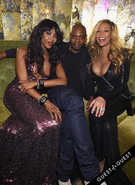 Dave Chappelle Naomi Campbell Wendy Williams