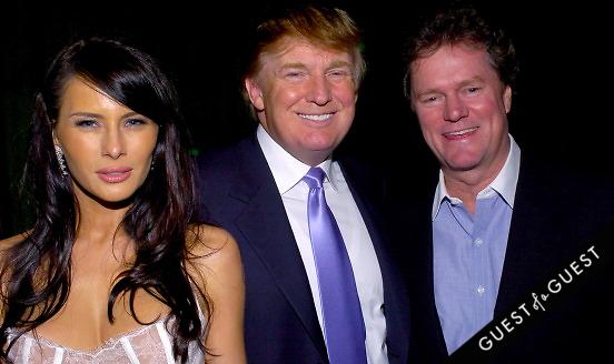 Melania Trump Donald Trump Rick Hilton