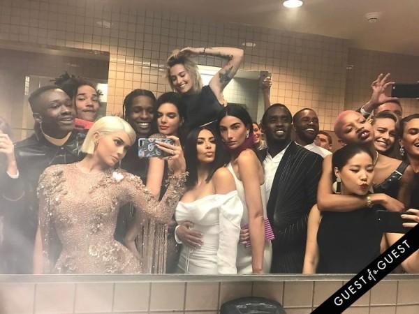 Kylie Jenner ASAP Rocky Kendall Jenner Kim Kardashian Lily Aldridge P. Diddy Frank Ocean