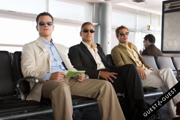 Matt Damon Brad Pitt George Clooney